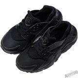 NIKE 女 HUARACHE RUN GS 慢跑鞋 黑 -654275016