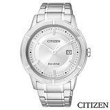 【CITIZEN】Eco-Drive世紀都會時尚腕錶 AW1080-51A
