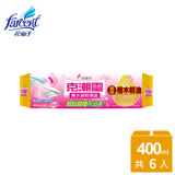 【克潮靈】集水袋除濕盒400ml-檜木香(6入/箱)~箱購 DD5032OXFX6