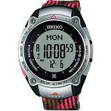 SEIKO PROSPEX 富士山世界遺產限定腕錶-粉紅/43mm S822-00B0R(SBEB037J)