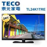【TECO東元】24型低藍光LED液晶電視TL24K1TRE+TS1301TRA2