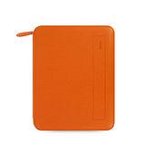 FILOFAX FOLIO系列 A5 IPAD拉鍊文件包-橘色