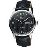 MIDO 美度 Multifort系列尊爵機械錶-黑灰/42mm M0054301606000
