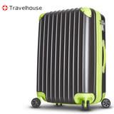 【Travelhouse】獨領風潮 28吋電子抗刮PC旅行箱(灰色)
