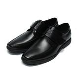 (男) Jason House 簡約輕便大底魔鬼氈商務皮鞋 黑 鞋全家福