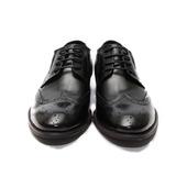 (男) Meurieio Belliei 獨家真皮綁帶英式牛津皮鞋 黑 鞋全家福