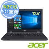 Acer ES1-731G-P3R7 17.3吋/N3710四核/910M 2G獨顯 大螢幕筆電–送HP DJ1110彩色噴墨印表機(鑑賞期過後寄出)