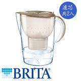德國 BRITA 馬利拉濾水壺3.5L-星燦金+濾芯2入