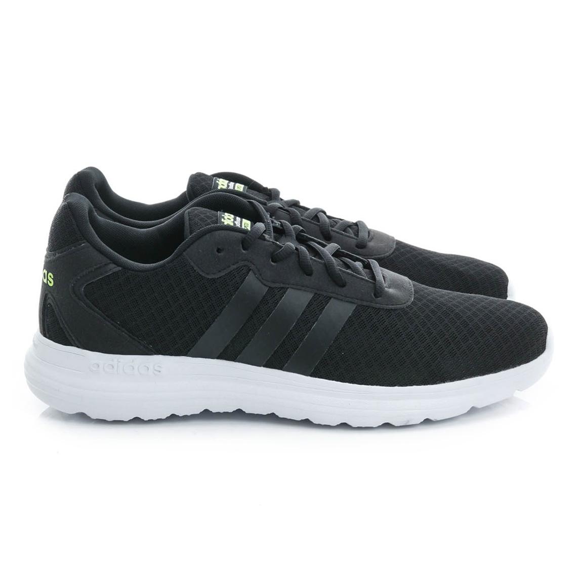 adidas 男 慢跑鞋 黑AW4911