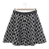 JESSICA 幾何圖案小圓短裙