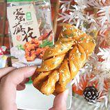 【明奇】青蒜蜂蜜蜜麻花(單入)