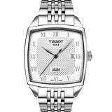 TISSOT Le Locle Square 經典機械腕錶-銀/39mm T0067071103300