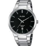ALBA PRESTIGE 日系純粹時尚腕錶-黑x銀/40mm VJ42-X138D(AS9923X1)