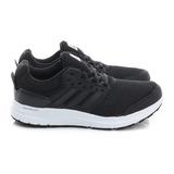 Adidas (男) 慢跑鞋 黑白 AQ6555