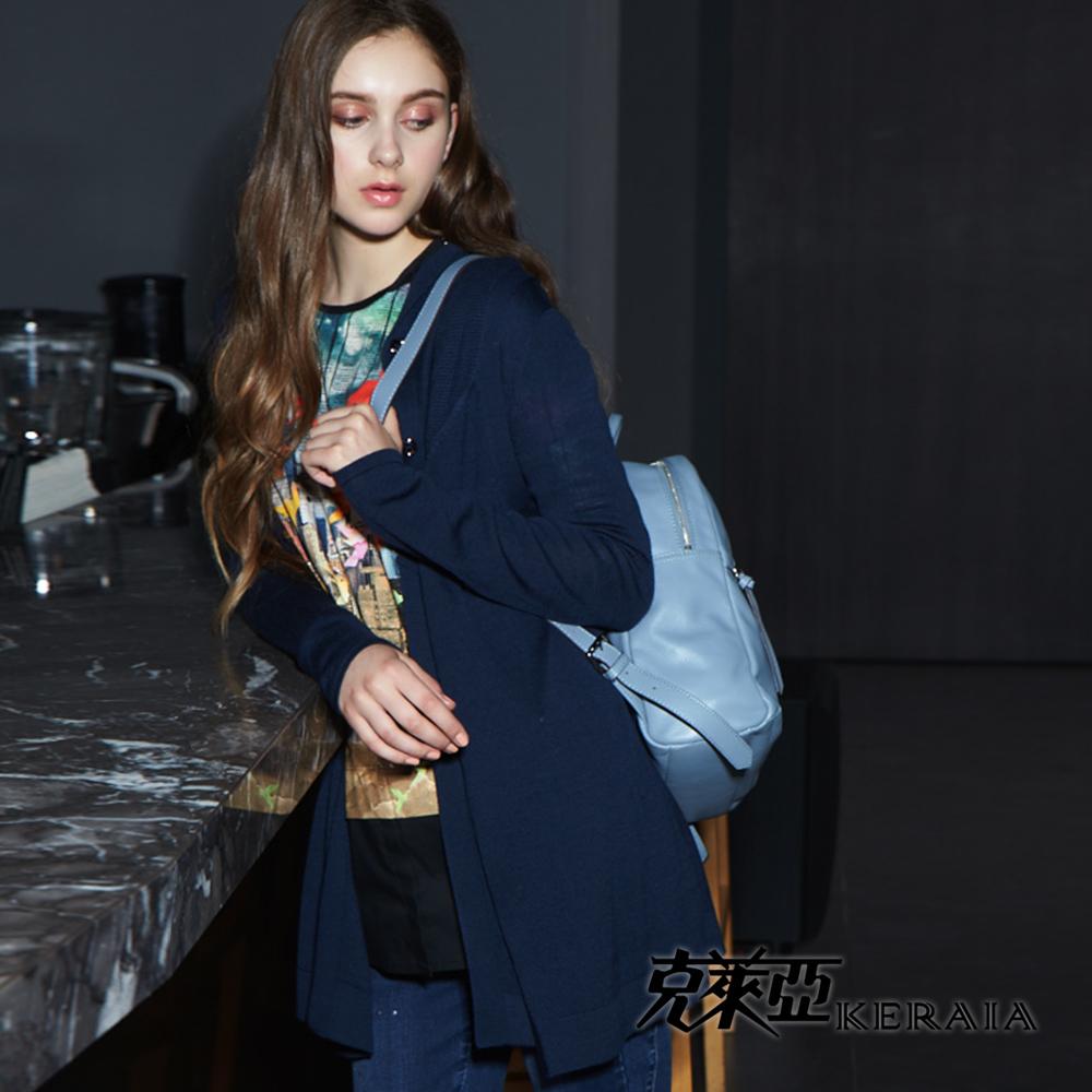 【克萊亞KERAIA】長版休閒二件式背心外套