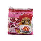 TIPTOP印尼乾撈麵洋蔥香雞味68g*6