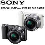 SONY A5000 / A5000L 16-50mm (中文平輸)-送32G記憶卡+專用鋰電池 +座充+UV保護鏡+SONY 原廠相機包+保護貼