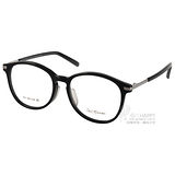 PAUL HUEMAN 光學眼鏡 時尚復古學院風(黑-銀) #PHF00756D 05-1