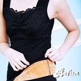 【 BeFun 內著專科 】CO 發熱衣 61509 背心款式 內有刷毛 保暖多加一層 修飾身形 彈力夠好 胸前蕾絲設計 火熱上架
