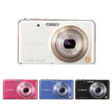 Panasonic DMC-FX80 10倍變焦時尚輕巧美顏機(日本製-公司貨)-贈32G記憶卡+專用電池+讀卡機+清潔組+保護貼+相機包