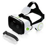 【小宅VR-Z4】內建耳機的虛擬實況3D眼鏡送手把!