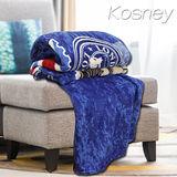 《KOSNEY 英倫風》頂級極細柔保暖法蘭絨毯150x200cm多色任選