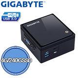 技嘉 GB-BACE-3160 Brix微型電腦[4G/240G]