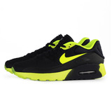 NIKE 女 NIKE AIR MAX 90 ULTRA SE (GS) 休閒鞋 黑綠 844599006