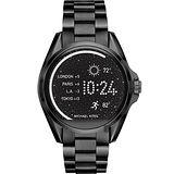 Michael Kors Access 觸控穿戴式智慧型腕錶-黑/45mm MKT5005
