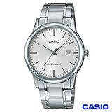 【CASIO卡西歐】 成熟男仕時尚鋼帶腕錶 MTP-V002D-7A