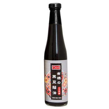 康健生機 有機黑豆蔭油 410ml/瓶(任選館)