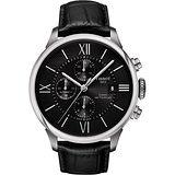 TISSOT 天梭 杜魯爾系列 羅馬三眼機械計時腕錶/44mm/T0994271605800