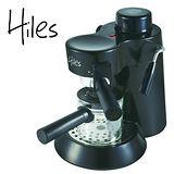 Hiles義式高壓蒸氣咖啡機 HE-301-寧靜黑