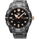 SEIKO 精工 5號盾牌60週年限定版日曆機械錶-黑/45mm 4R36-05K0K(SRPA33J1)