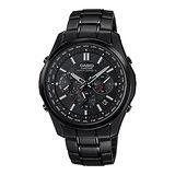 CASIO 漢森男子電波太陽能腕錶-LIW-M610DB-1AJF