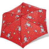 【rainstory】馬戲團抗UV輕細口紅傘