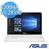 ASUS VivoBook E200HA 11.6吋 X5-Z8350/4G/32G/W10 小筆電(白色)-【送精美滑鼠墊】