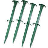 PP塑膠固定樁KC-A6202 (園藝 帆布 草蓆 塑膠釘)
