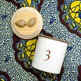 【Homely Zakka】數字3竹蓋琺瑯儲物密封罐/輕食沙拉水果罐(750ml)
