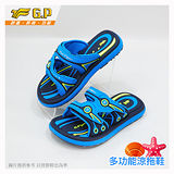 【G.P 兒童休閒舒適拖鞋】G7526B-22 淺藍色 (SIZE:28-32 共二色)