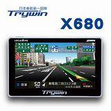 【團購二入】Trywin DTN-X680 超薄5吋多媒體娛樂衛星導航機(二入組)