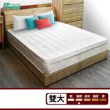 IHouse-3M防潑水蜂巢三線獨立筒床墊-雙人加大
