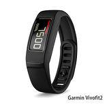 Garmin Vivofit 2智慧運動健身手環 (黑)