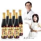 大廚當家 江守山醫師監製百年瑞春手工非基改松露風味醬油6入禮盒優惠組 420ml/瓶*6瓶