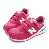 New Balance 童鞋 經典復古鞋 桃紅 KV574CZY