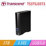 Transcend 創見 StoreJet 35T3 3TB 外接式硬碟 TS3TSJ35T3