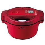 SHARP夏普 0水鍋 蒸氣1.6L日本首款無水調理電鍋 KN-H16TA