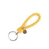 【BOTTEGA VENETA】小羊皮 key圈 (芥末黃色)