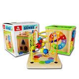 【風車圖書】寶寶多元智能學習盒-FOOD超人(購物車)