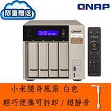 【隨貨附贈小米隨身風扇】QNAP 威聯通 TVS-473-8G 4-Bay NAS